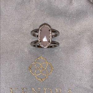 Kendra Scott Elyse ring in silver